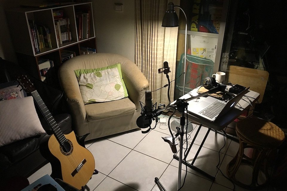 set up a home recording studio